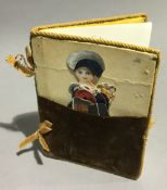 A Victorian book entitled ''The History of Little Fanny'' with original cut out scrap figure