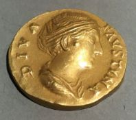 A Banco Di Roma boxed gold coin