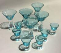 A set of Kosta Boda glasses