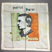 An Irish commemorative handkerchief