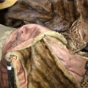A quantity of furs