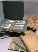 A large collection of diaries with corresponding photographs covering the period from