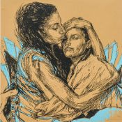 SWOON (CALLIE CURRY) (born 1977) American Alixa and Naima Limited edition print,