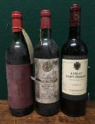 Chateau de May 1972 Single bottle; together with Chateau des Tuileries 1971,