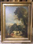 WILLIAM JAMES MULLER (1812-1845) British Tivoli Oil on panel, signed,