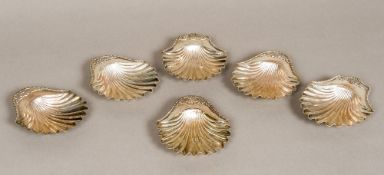 Six George III silver dishes, three marked London 1814,