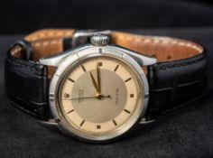 A Rolex Oyster Precision gentleman's wristwatch With thunderbird bezel,