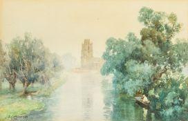 FREDERICK GEORGE COTMAN (1850-1920) Brit