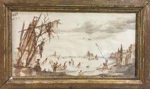 Attributed to WILLEM VAN DE VELDE (1633-