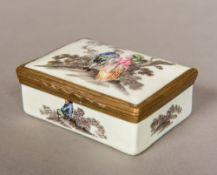 A late 18th/early 19th century enamel bo