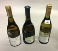 A bottle of Baron De L 2012, a bottle of Moss Wood,