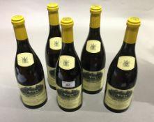 Five bottles of Hamilton Russell chardonnay