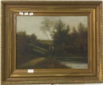 A Victorian oil on panel,