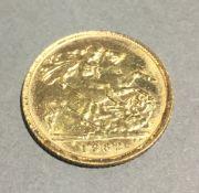 A 1982 half sovereign