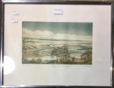 A print of Solway Firth