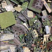 A quantity of Britains miniature lead garden