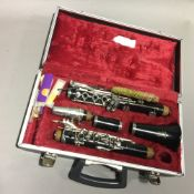 A 1963 Boosey & Hawkes Regent clarinet,