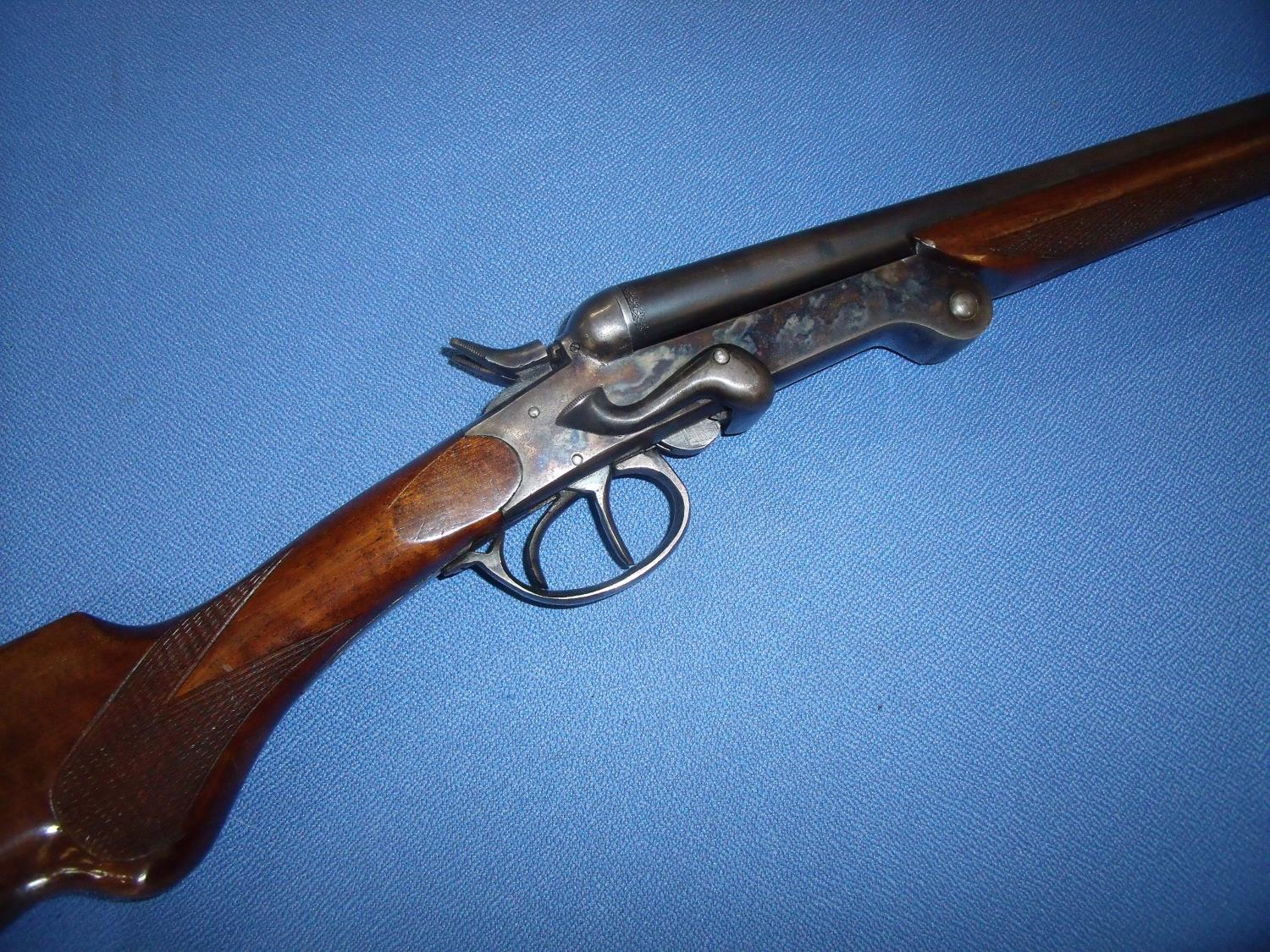 spanish made 410 side by side folding shotgun with 3 inch chambers