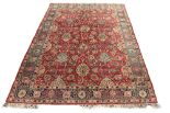 Lot 16 - Property of a gentleman - a Mahal carpet, 142 by 104 (361 by 264cms.) (see illustration).