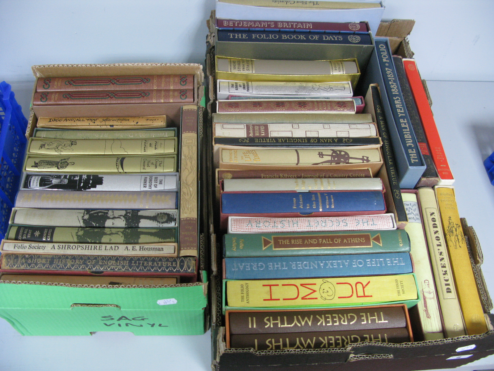 Lot 8 - The Folio Society - Over forty books, historical reference, humour and general interest, almost