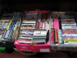 Lot 1023 - A Quantity of DVD's, modern titles noted:- Three Boxes.