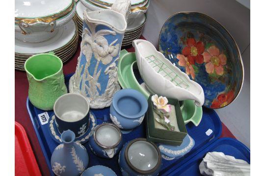 Wedgwood Jasperware Trinket Box Vases Arthur Wood Vase Etc One