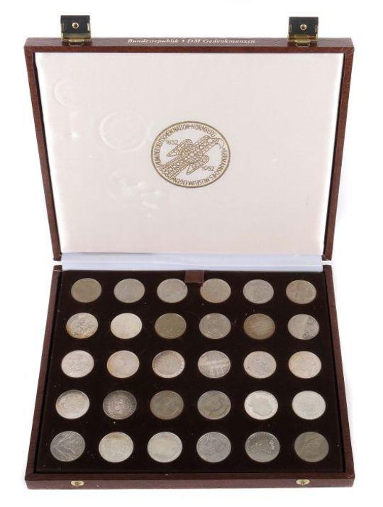 Konvolut Dm Münzen41 Tlg Best Aus 40x 5 Dm Münzen 1964 86 Und