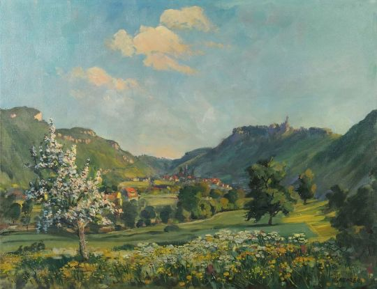 Maler In Reutlingen kehrer wilhelm1892 1960 maler ansässig in reutlingen blick