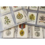 Cigarette Silks, Mixture, a variety to include Phillips Orders of Chivalry Series 10 and Heraldic