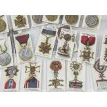 Cigarette Cards, Taddy, part sets to include Autographs (1), British Medals & Ribbons (21) and