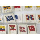 Cigarette Silks, Flags, a selection from various sets by Phillips to include 16th Series (L size,