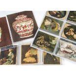 Cigarette Cards & Silks, Art, complete set Hills (Spinet) Famous Engravings Series XI together
