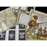 Trade Cards & Related Ephemera, Mixture, a collection of items to include Mazawattee Kings &
