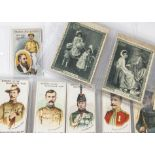 Cigarette Cards, Salmon & Gluckstein, a selection of part sets to include Heroes of the Transvaal