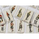 Cigarette Cards, Military, a selection of cards, various Manufacturers to name, Martins Army