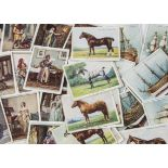 Cigarette Cards, Mixture, a selection of larger card sets to name, Players Ships Models, Famous