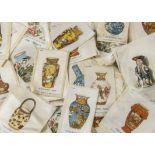 Cigarette Silks, Ceramic Art, Phillips Ceramic Art, various sets and sizes, over 200 loose silks,