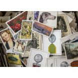 Cigarette Cards, Mixture, a large collection of loose cards, various Manufacturers and sets (1000'
