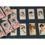 Foreign Cigarette Cards, Wills Scissor, a collection in a hardback album various cards from VC