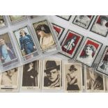 Cigarette Cards, Actresses and Beauties, a selection of rarer cards to name Leas Modern
