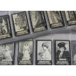 Cigarette Cards, Ogdens, Guinea Gold, a collection of Actresses and Views, various sets including