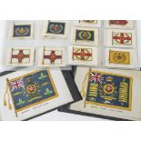 Cigarette Silks, Military, Phillips Regimental Colours Series 12 (complete set) together with 5 P