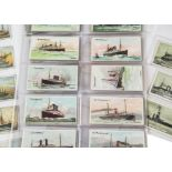 Cigarette Cards, Shipping, part sets and odd cards to name Singleton & Cole Atlantic Liners (30