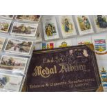 Cigarette Cards, Mixture, F & J Smiths Medal Album (gd) together with a collection of parts sets