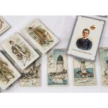 Cigarette Cards, Mixture, a collection of rarer cards to include Woods Types of Volunteer & Yeomanry