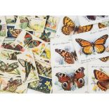 Cigarette Cards, Players, three rarer sets to name Overseas Issue Butterflies (girls), Poets and