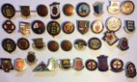Lot 39 - A COLLECTION OF 20TH CENTURY ENAMEL BADGES Various bowling clubs including Gloucester bowling