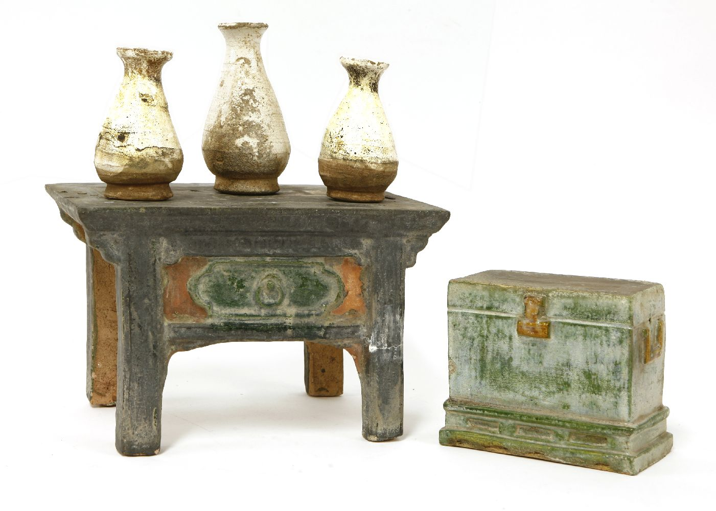 Lot 1050 Two Chinese Models Of Furniture Ming Dynasty 1368 1644