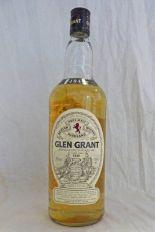 Lot 4004 - 1 BOTTLE OF GLEN GRANT PURE MALT SCOTCH WHISKY, 1 LITRE ,