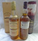 Lot 4042 - 1 BOTTLE ARDMORE SINGLE MALT WHISKY, 46.1 % VOL 70CL IN TUBE.